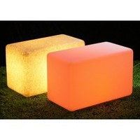LED 13 Inch Bench Rectangle Table Furinture
