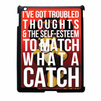 Fall Out Boy Watch A Catch Quote iPad 2 Case