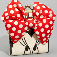 Minnie Mouse Wallet | Kisslock Wallet With Bow | fredflare.com