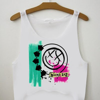 blink 182 for Crop Tank Girls S, M, L, XL, XXL *07*