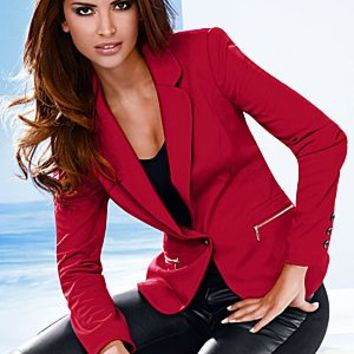 Zipper Pocket Blazer