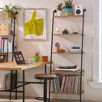 Fulton Leaning Bookshelf | Urban Outfitters