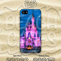 iPhone 5c case, Disney Castles, iPhone 5 case, Disneyland, iPhone 5/5s, iPhone 4/4s, Samsung Galaxy S4 S5 Note3, Hard and Soft case  - dy12