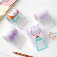 Kawaii memo pad color sticky notes Creative post it korean papeleria stickers scrapbooking papeterie planner stickers