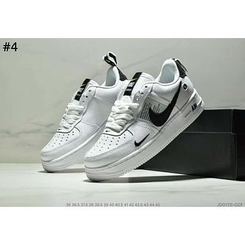 NIKE AIR FORCE 1 x OFF-WHITE Joint series low-cut men's and women's fashion wild sports shoes #4