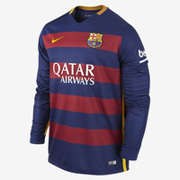 Barcelona Long Sleeves Jersey 2015 2016
