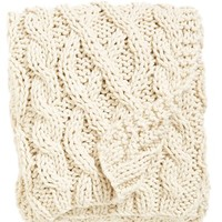 Nordstrom at Home Hand Knit Cable Throw