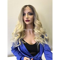 Blonde Full Lace Wig 18""