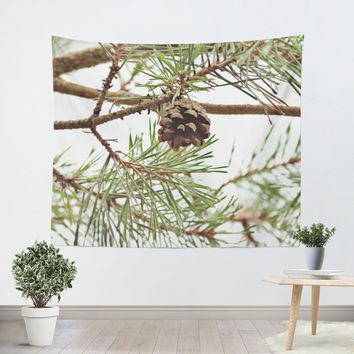 Pine Cone Tapestry