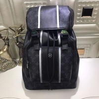 LV Louis Vuitton MEN'S MONOGRAM CANVAS ZACK BACKPACK BAG-KUYOU