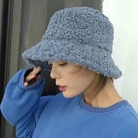 Teddy Wool Bucket Hat