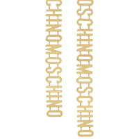 Moschino - + V&A gold-plated clip earrings
