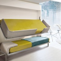 PULL-DOWN BUNK BED LOLLISOFT IN | CLEI