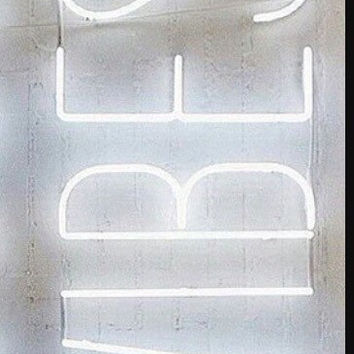 Vibes neon sign