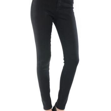 11 inches high waisted ankle slim skinny jeans