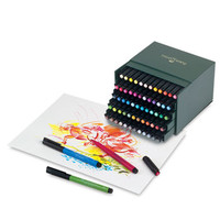 Save On Discount Faber-Castell PITT Artist Pen, Gift Box Set of 60 Colors & More Brush Pen Sets at Utrecht