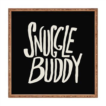 Leah Flores Snuggle Buddy II Square Tray