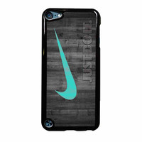 Nike Mint Just Do It Wooden iPod Touch 5th Generation Case