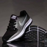 """Nike Air Zoom Pegasus 34"" Sport Casual Unisex Non-slip Wear-resistant Light Running Shoes Couple Sneakers"