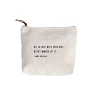 In Love With Life Canvas Bag