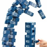 Doctor Who Tardis Tumbling Tower Game - 36 Pieces Included
