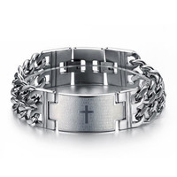 316L Stainless Steel Men Fashion Bracelet