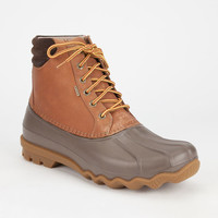 Sperry Avenue Mens Duck Boots Tan  In Sizes