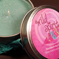 Wild Spirit Soy Candle - Celebrate Your Unique Quirky Free Spirited Adventurous Self!
