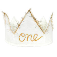 """Baby """"One"""" Birthday Crown"""