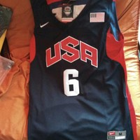LEBRON TEAM USA JERSEY