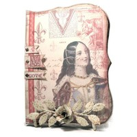 Shakespeare Thoughts Journal, Valentine's Day Scrapbook Diary