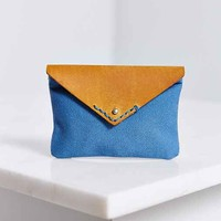 BDG Canvas Leather Card Holder Wallet-