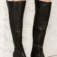 Jeffrey Campbell Gridley Leather Boot
