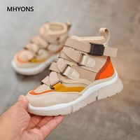 2018 Autumn Winter Fashion Kids Leather Martin Boots For Girls Boys Warm Snow Boots Shoes Casual Children Baby Toddler Sneakers
