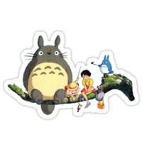 Totoro - Totoro and friends