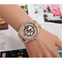 MICHAEL KO WOMENS MENS ROSE GOLD WATCH MK5188 WATCHES
