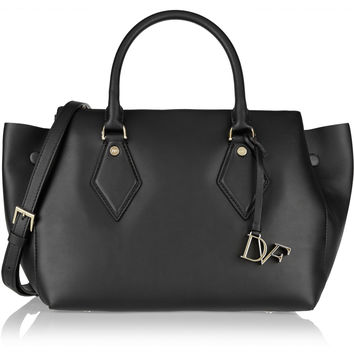 Diane von Furstenberg - Voyage large leather tote