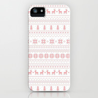 Winter Wonderland iPhone & iPod Case by Pink Berry Pattern