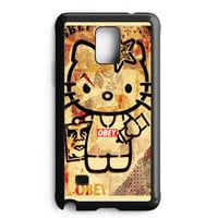 Obey Hello Kitty Samsung Galaxy Note 4 Case
