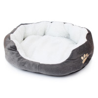 Pawz Road Pet Dog Bed Warming Dog House Soft Material Dog Cat Kennel Warm Winter for Dog Cat Pet Products 6Colors
