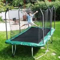Skywalker Summit 8' x 14' Rectangle Trampoline and Enclosure