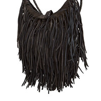DailyLook: En Shalla Medium Moon Fringe Purse