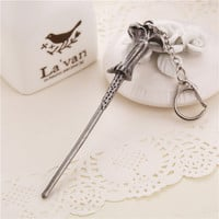 Vintage Harry Potter Inspired Wand Key Chain - Voldemort