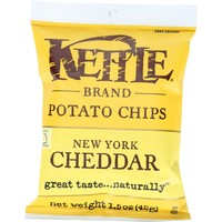 Kettle Foods Potato Chips New York Cheddar - 1.5 oz