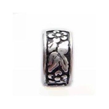 Floral Ivy  Clip Lock Stopper Bead