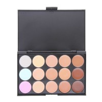 15 Color Concealer And Highlighter With Brush