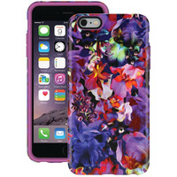 SPECK SPK-A3186 iPhone(R) 6 Plus/6s Plus CandyShell(R) Inked Case (Lush Floral/Beaming Orchid Purple)