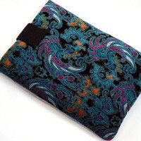 Hand Crafted Tablet Case from Floral Embroidery Fabric/Case for:iPad,Kindle Fire HDX,Samsung Galaxy Tab, Google Nexus, iPad Air, Nook HD