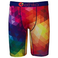 Ethika New Style Men's Fashion Boxer Underwear Mens Long Boxers Shorts Cotton Undershorts Sexy Boxers