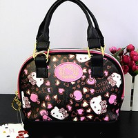 New Women Girl Hello kitty Bag Messenger bag Shoulder bag Handbags yey-6603-2